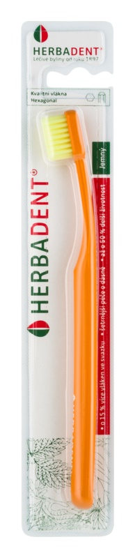 Herbadent Hexagonal zubní kartáček soft