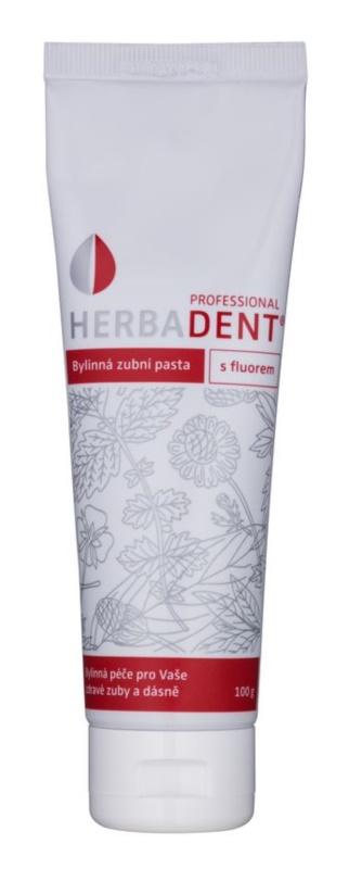 Herbadent Professional bylinná zubní pasta s fluoridem