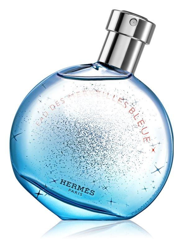 Hermes Eau des Merveilles Bleue Eau de Toilette voor Vrouwen  30 ml