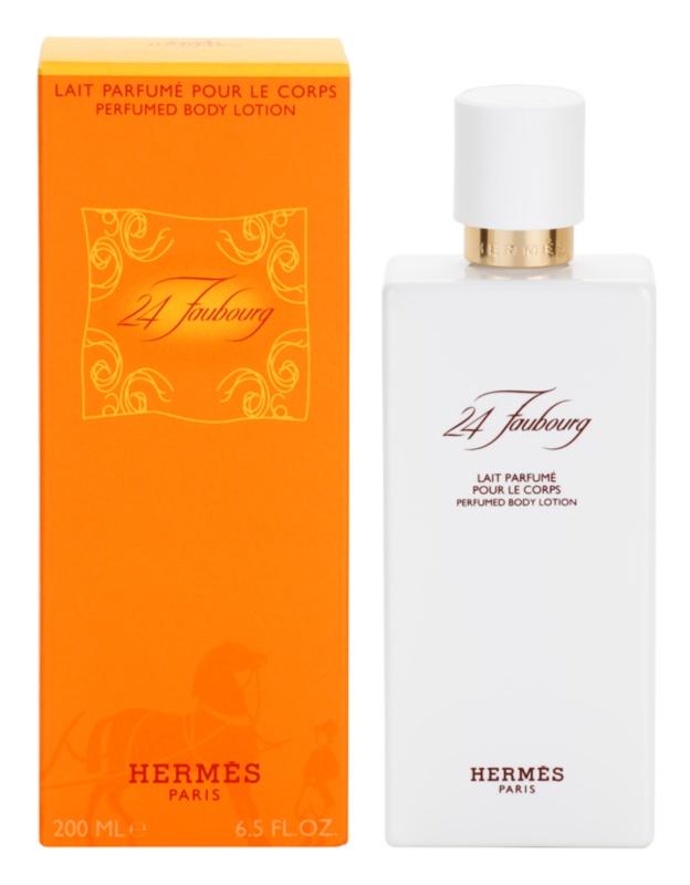 Hermès 24 Faubourg lapte de corp pentru femei 200 ml