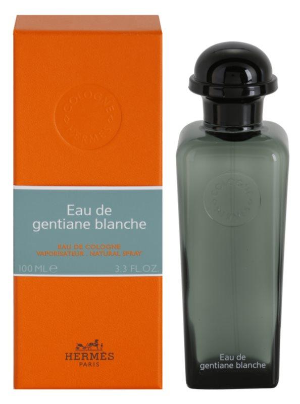 Hermes Eau de Gentiane Blanche Eau de Cologne Unisex 100 ml
