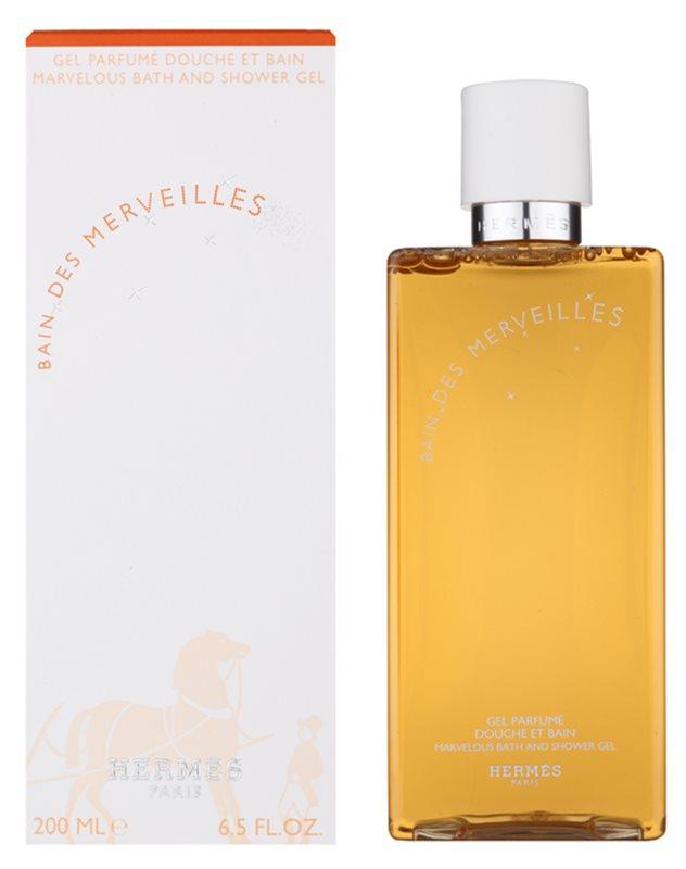 Hermès Eau des Merveilles gel doccia per donna 200 ml