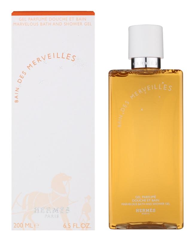Hermès Eau des Merveilles gel za prhanje za ženske 200 ml