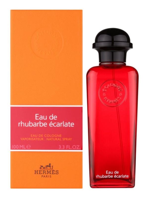 Hermes Eau de Rhubarbe Écarlate Eau de Cologne Unisex 100 ml