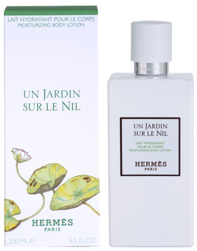Hermès Un Jardin Sur Le Nil tělové mléko unisex 200 ml