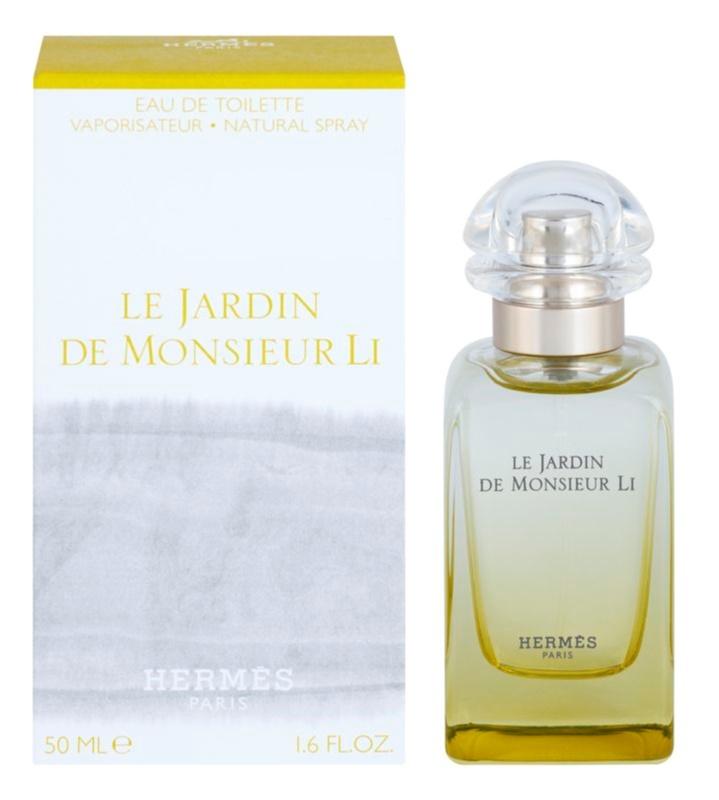 Hermès Le Jardin De Monsieur Li Eau de Toilette unisex 50 ml