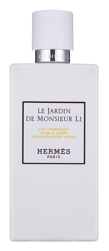 Hermès Le Jardin De Monsieur Li tělové mléko unisex 200 ml