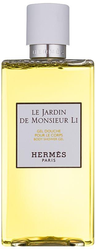 Hermès Le Jardin De Monsieur Li sprchový gel unisex 200 ml