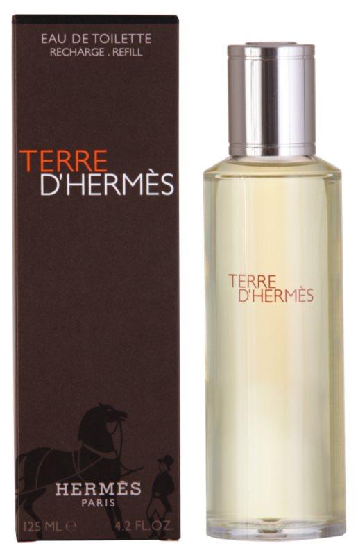 Hermès Terre d'Hermès woda toaletowa dla mężczyzn 125 ml uzupełnienie
