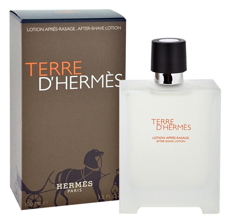 Hermès Terre d'Hermès borotválkozás utáni arcvíz férfiaknak 100 ml