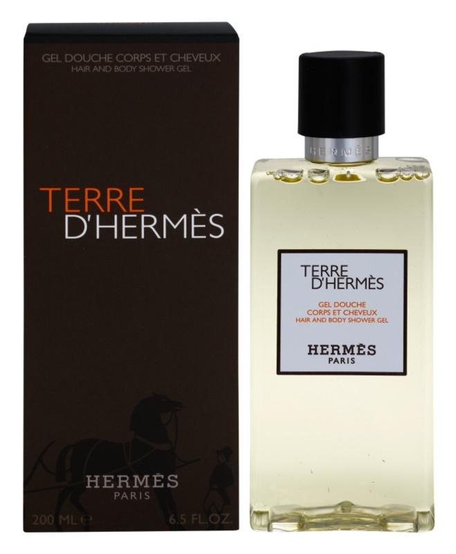 Hermès Terre d'Hermès sprchový gél pre mužov 200 ml