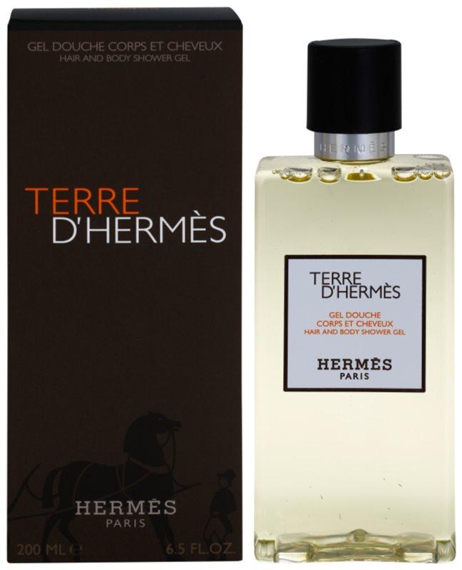 Hermès Terre d'Hermès sprchový gel pro muže 200 ml