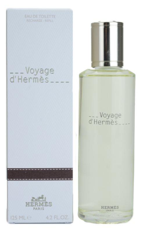 Hermès Voyage d'Hermès Eau de Toilette unisex 125 ml Ersatzfüllung
