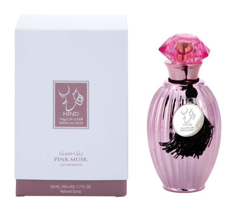 Hind Al Oud Pink Musk parfémovaná voda unisex 50 ml
