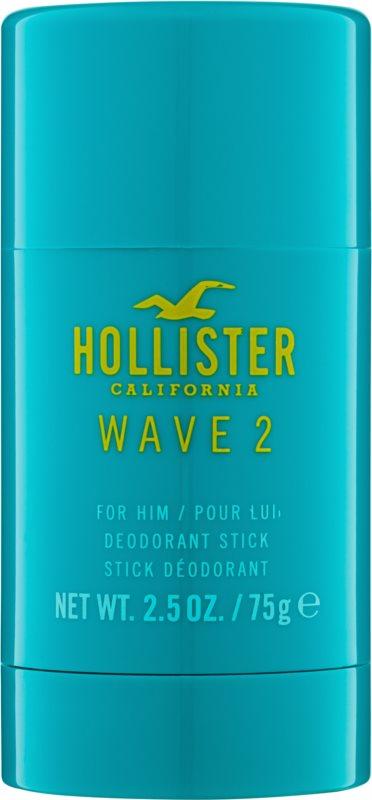 Hollister Wave 2 deo-stik za moške 75 g
