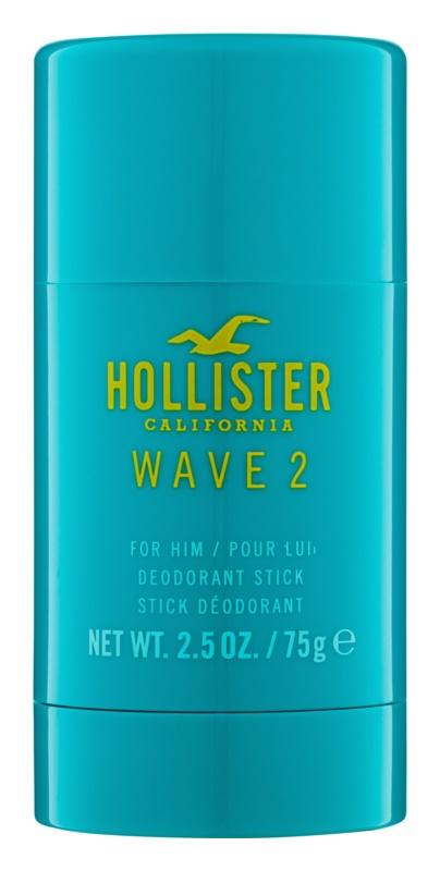 Hollister Wave 2 desodorante en barra para hombre 75 g