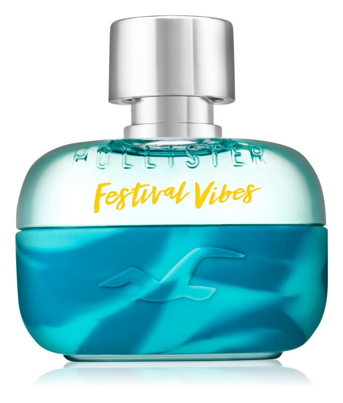 Hollister Festival Vibes Eau de Toilette for Men 100 ml