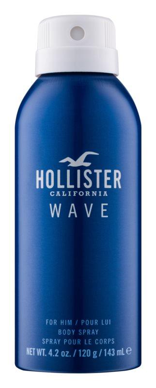 Hollister Wave Σπρεϊ σώματος για άνδρες 143 μλ