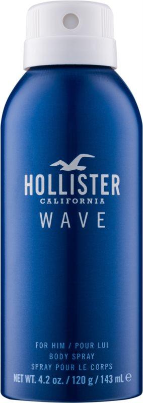 Hollister Wave tělový sprej pro muže 143 ml