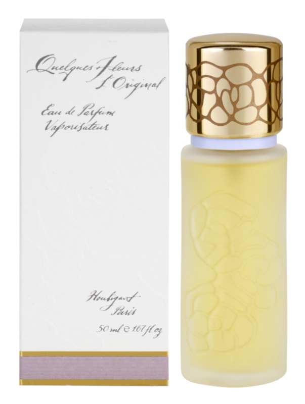 Houbigant Quelques Fleurs l'Original Eau de Parfum para mulheres 50 ml