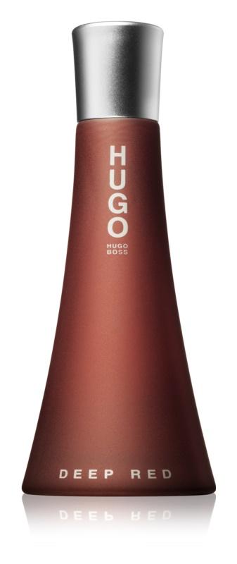 Hugo Boss Hugo Deep Red Eau de Parfum para mulheres 90 ml