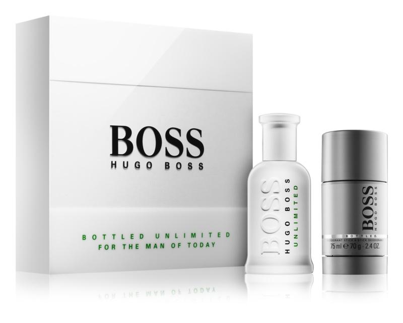 Hugo Boss Boss Bottled Unlimited lote de regalo II.