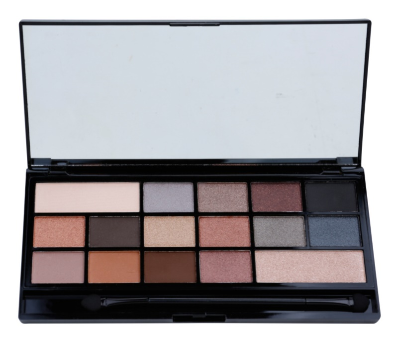 I Heart Revolution Naked Underneath Palette mit Lidschatten
