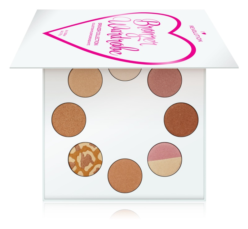 I Heart Revolution Highlighter Wardrobe paleta luminoasa
