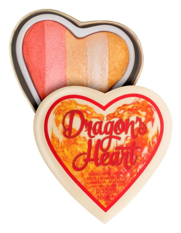I Heart Revolution Dragons Heart iluminator pentru față și zona ochilor