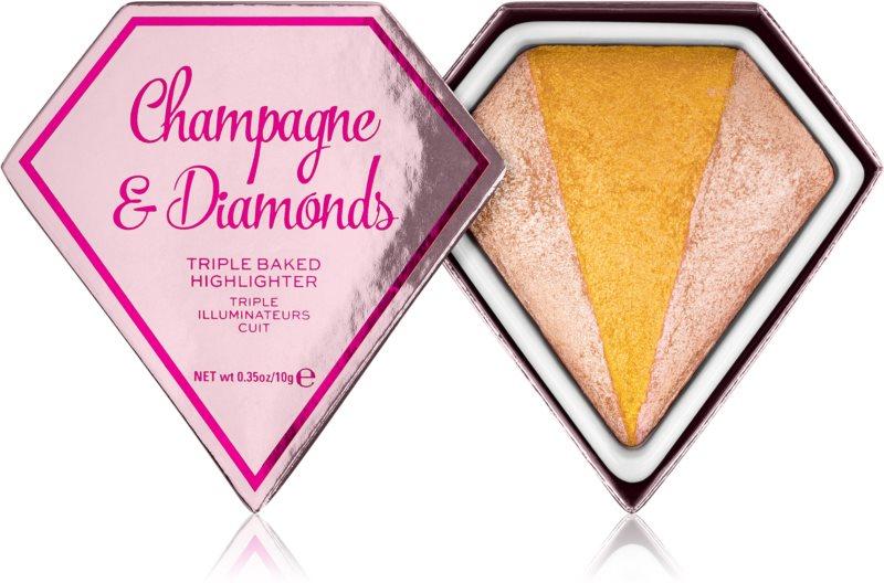 I Heart Revolution Diamonds zapečen osvetljevalec