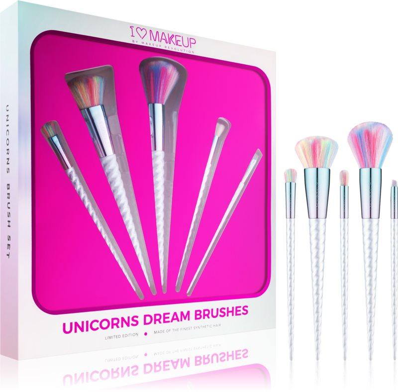 I Heart Revolution Unicorns Dream Brush Set