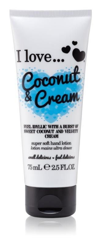 I love... Coconut & Cream крем для рук