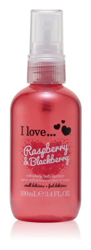 I love... Raspberry & Blackberry spray de corp racoritor