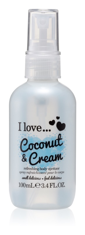 I love... Coconut & Cream Refreshing Body Spray