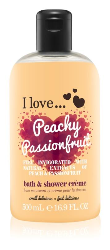 I love... Peachy Passionfruit sprchový a koupelový krém