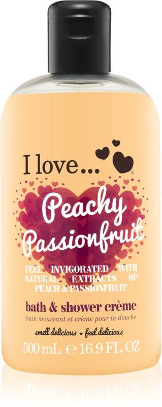 I love... Peachy Passionfruit крем для ванни та душу