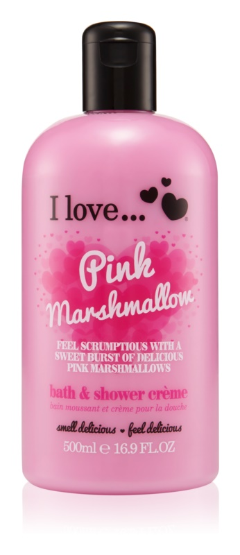 I love... Pink Marshmallow Shower and Bath Cream