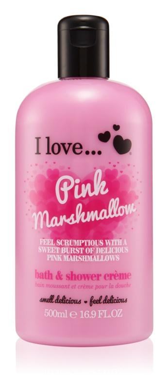 I love... Pink Marshmallow sprchový a kúpeľový krém