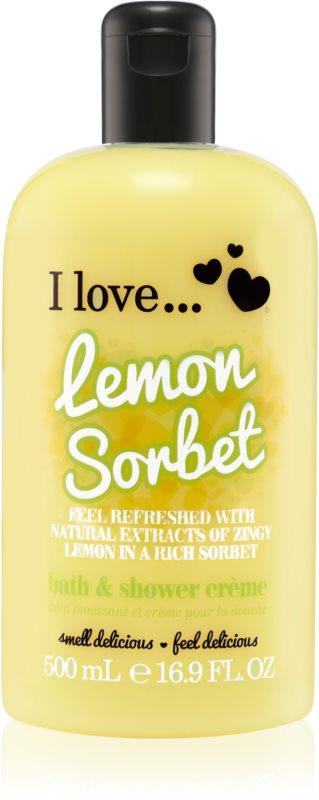 I love... Lemon Sorbet