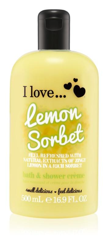 I love... Lemon Sorbet крем для ванни та душу