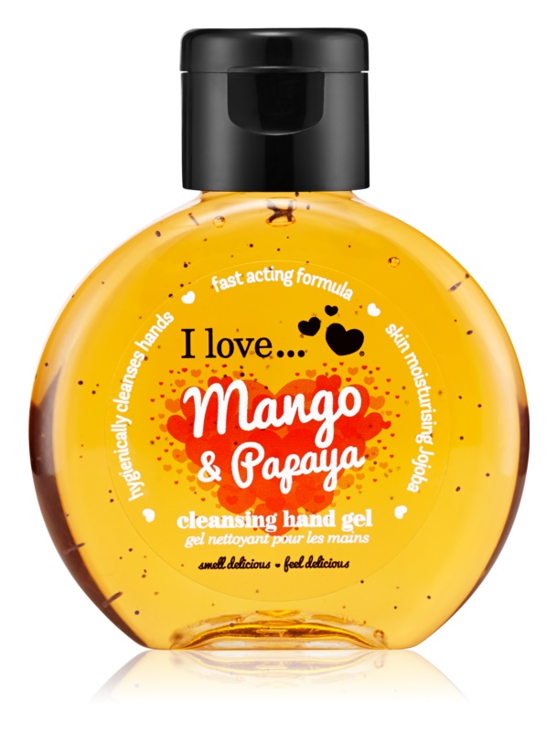 I love... Mango & Papaya очисний гель для рук