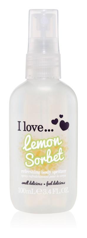 I love... Lemon Sorbet osviežujúci telový sprej