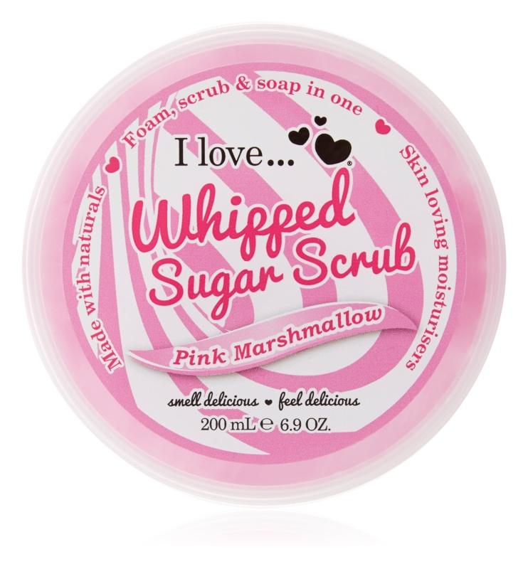 I love... Pink Marshmallow peeling de açúcar