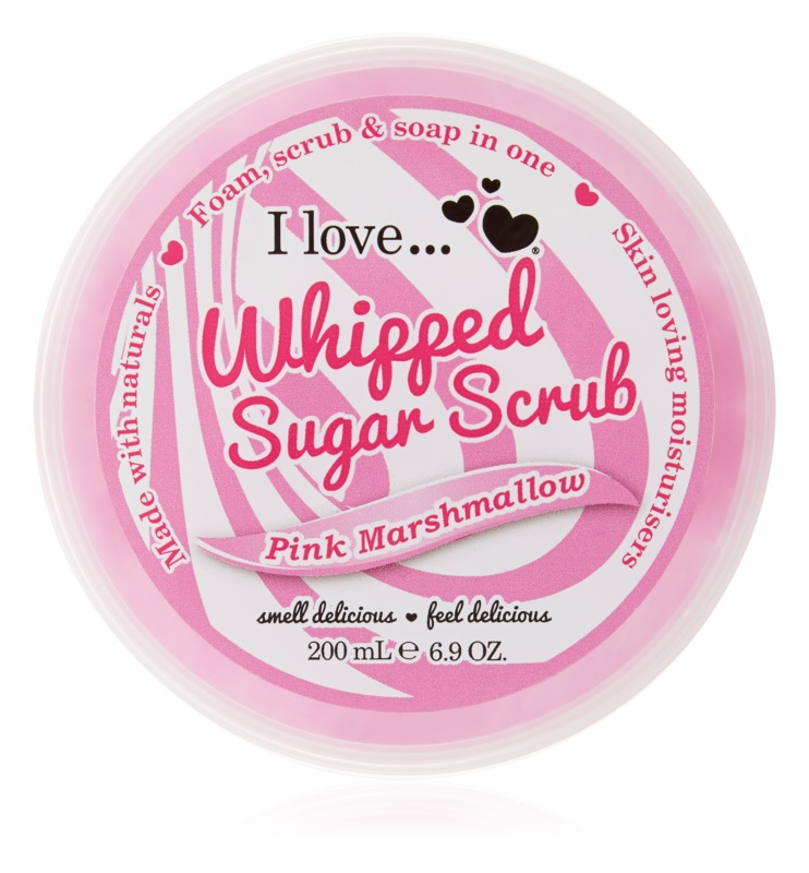 I love... Pink Marshmallow Απολεπιστικό ζάχαρης