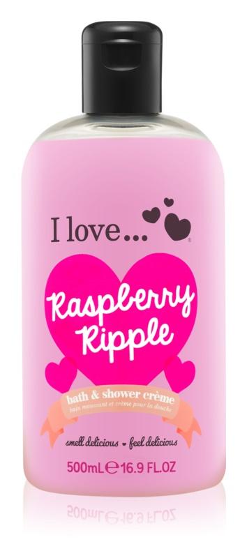 I love... Raspberry Ripple sprchový a kúpeľový krém