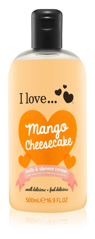 I love... Mango Cheesecake cremă de duș și baie