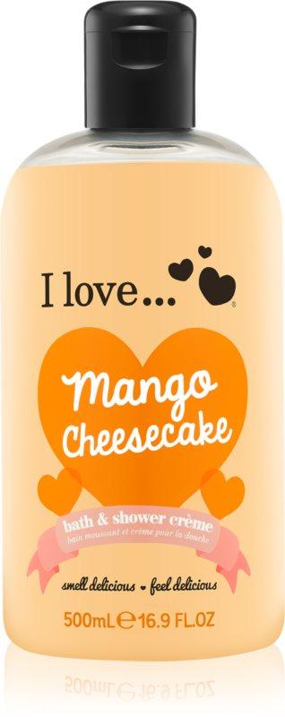 I love... Mango Cheesecake sprchový a koupelový krém