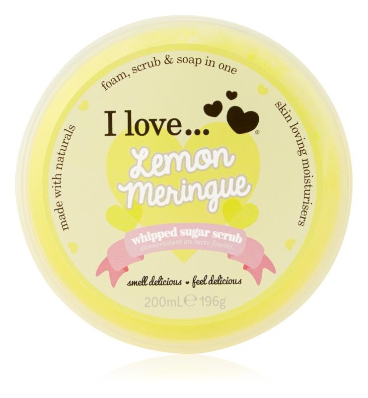 I love... Lemon Meringue цукровий пілінг