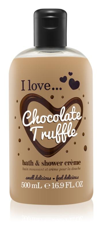 I love... Chocolate Truffle sprchový a koupelový krém