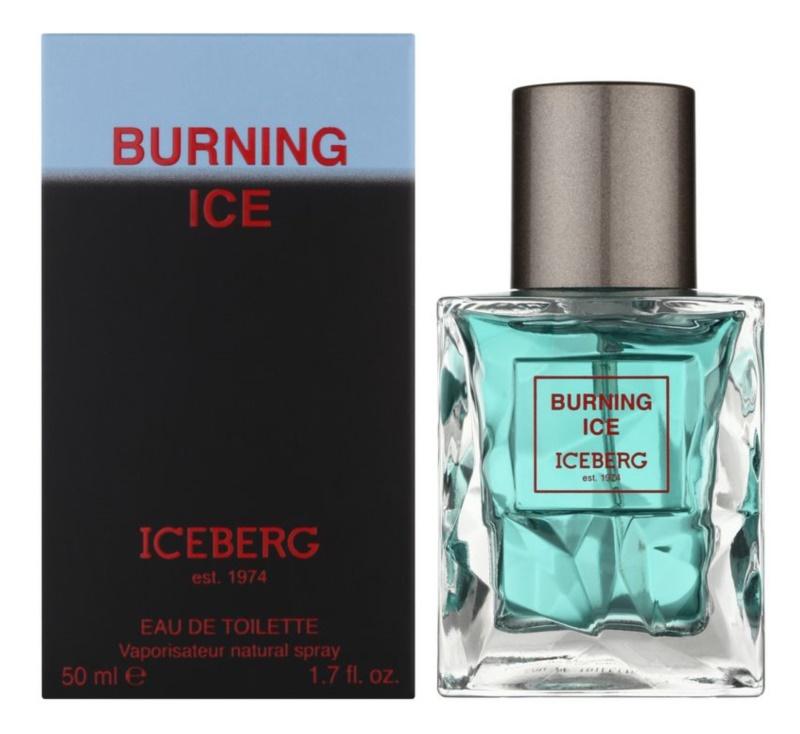 Iceberg Burning Ice eau de toilette pentru barbati 50 ml